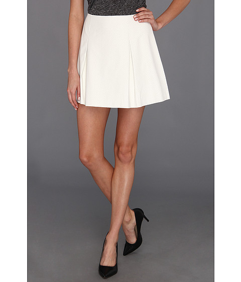 Pantaloni BCBGeneration - Pleated Short Skirt - White