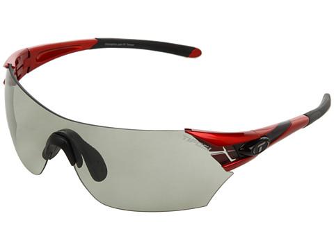 Ochelari Tifosi Optics - Podiumâ⢠Fototecâ⢠- Smoke - Metallic Red/Smoke Fototec Lens