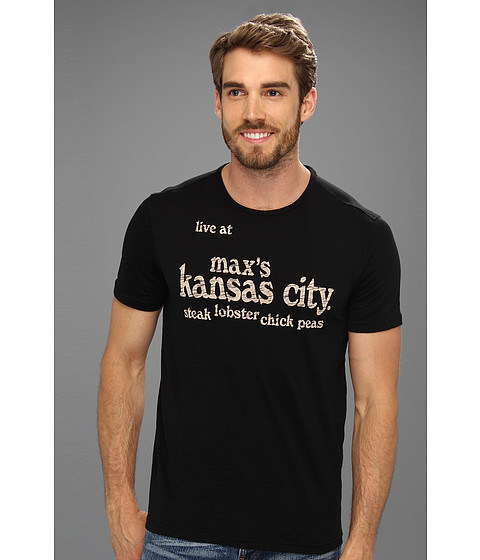Tricouri John Varvatos - Max\s Kansas City Tee - Black