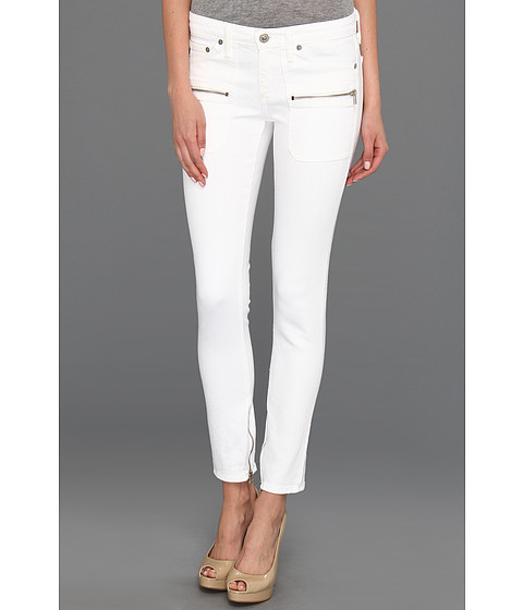 Blugi AG Adriano Goldschmied - Harlow Patch Pocket Zip in White - White