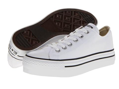 Adidasi Converse - Chuck Taylorî All Starî Platform Ox - White