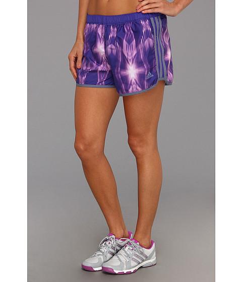 Pantaloni adidas - M10 Faster Graphic Short - Blast Purple/Ray Purple