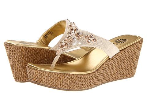 Sandale Yellow Box - Lady - Light Gold