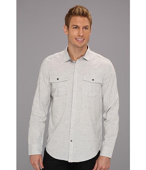 Tricouri Calvin Klein - L/S Modern Solid Woven Shirt - Dove