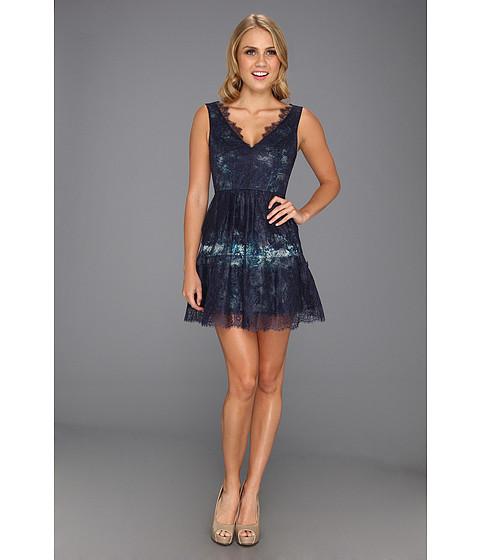 Rochii BCBGMAXAZRIA - Willa Lace Dress - Dark Ink Combo