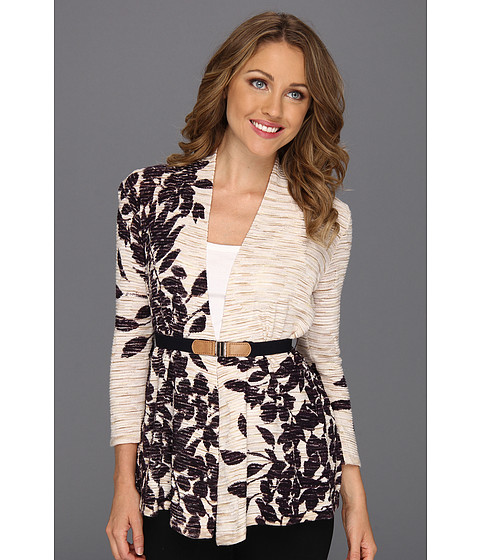 Pulovere NIC+ZOE - Petite Evening Leaves Cardy - Multi