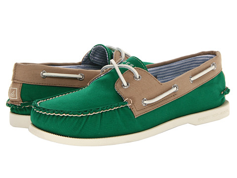Pantofi Sperry Top-Sider - A/O 2-Eye Canvas - Jelly Bean/Taupe