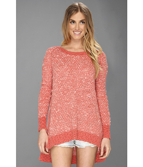 Bluze Free People - Jeepster Pullover - Nantucket Red