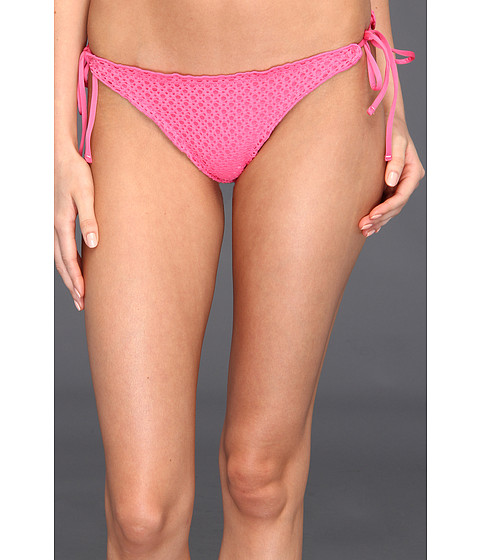 Costume de baie Volcom - Catch & Release Flutter Skimpy Bottom - Pink