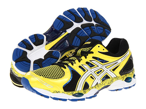 Adidasi ASICS - GEL-Nimbusî 14 Limited Edition - Yellow/White/Blue