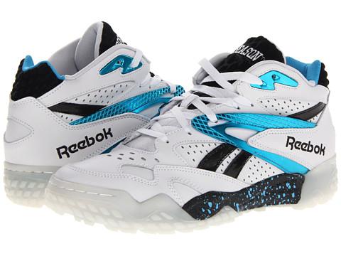 Adidasi Reebok - Scrimmage Mid - Porcelain/California Blue/Black