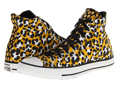 Adidasi Converse - Chuck Taylorî All Starî Animal Print Hi - Old Gold