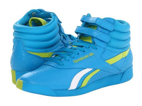 Adidasi Reebok - F/S Hi Splitz - Far Out Blue/Sonic Green/White