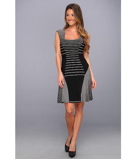 Rochii Max and Cleo - Miranda Knit Casual Dress - Black Combo