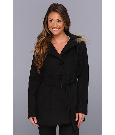 Geci dollhouse - Wool Fashion Blanket Coat - Black