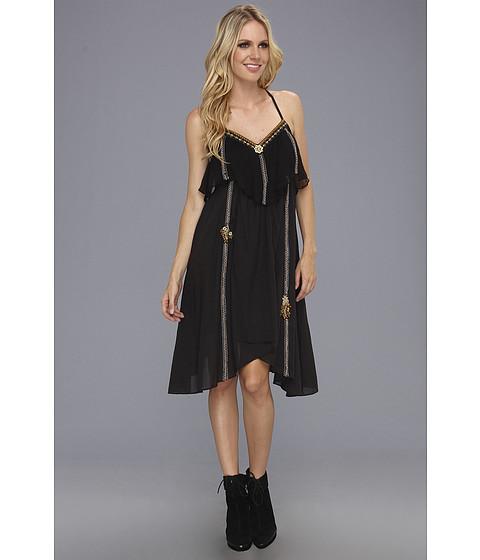 Rochii Free People - Enchanted Rock Dress - Black