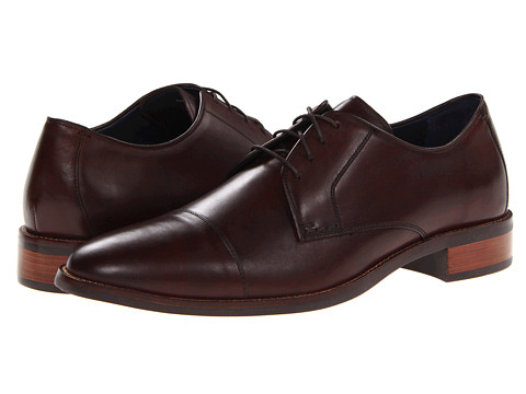 Pantofi Cole Haan - Lenox Hill Cap Ox - Dark Brown