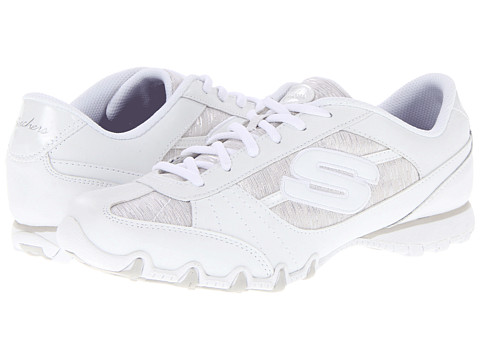 Adidasi SKECHERS - Bikers - Fiesta - White
