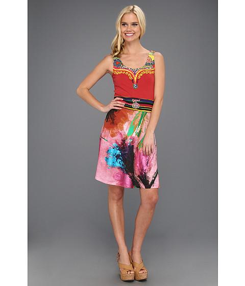 Rochii Desigual - Lido Sleeveless Dress - Fresa