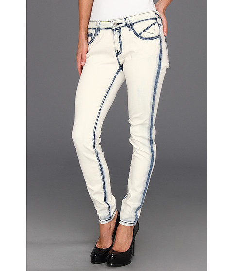 Blugi VIGOSS - Super Skinny Brooklyn in Bleach Wash - Bleach Wash