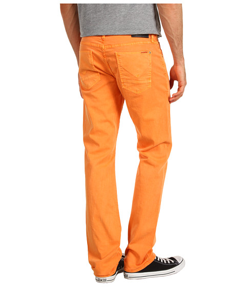 Blugi Hudson - Byron Five-Pocket Straight in Amber Orange - Amber Orange