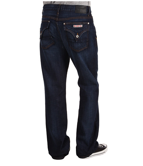 Blugi Hudson - Flap Pocket Relaxed Bootcut in Engineer - Engineer
