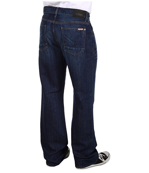 Blugi Hudson - Fletcher 5-Pocket Relaxed Bootcut in Locomotive - Locomotive