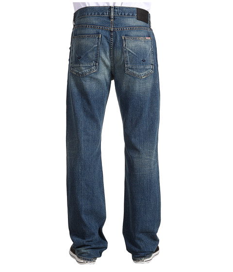 Blugi Hudson - Wilde Five Pocket Relaxed Straight in Welder - Welder