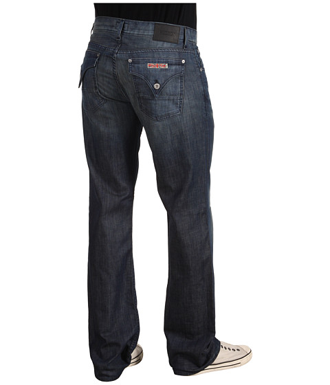 Blugi Hudson - Wilde Flap Pocket Relaxed Straight in Commander - Commander