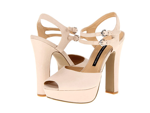 Pantofi French Connection - Gabby - Nude/Nude/Nude