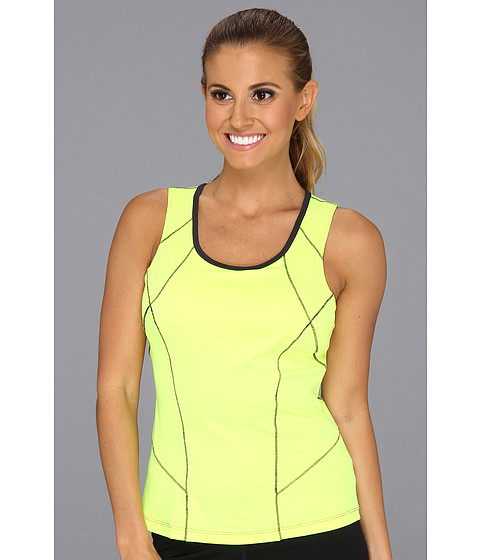Tricouri Fila - Day Glo Full Coverage Tank Top - Safety Yellow/Ebony