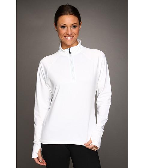 Tricouri Fila - W Essential L/S 1/2 Zip - White
