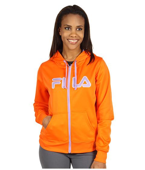 Bluze Fila - Zip Up Hoodie - Apricot/Sweet Lavendar/White