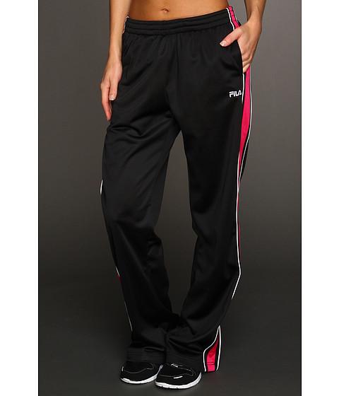 Pantaloni Fila - Chevron Poly Matte Tricot Pant - Black/Cerise/White