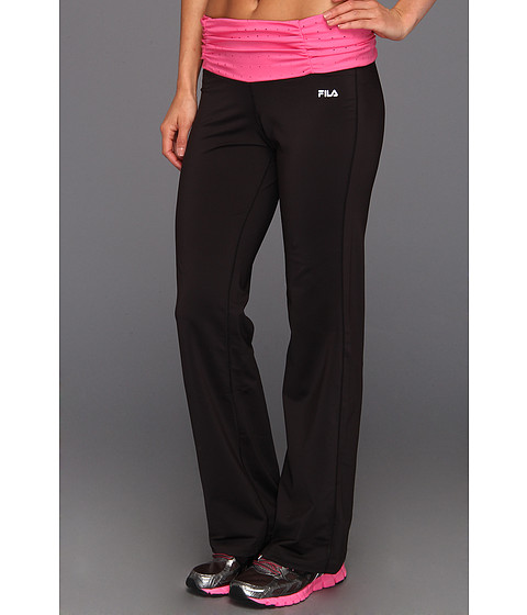Pantaloni Fila - Parallax Pant - Black/Pink Shock