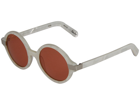 Ochelari Elizabeth and James - Wooster - Shiny White Mother of Pearl/Silver Metal