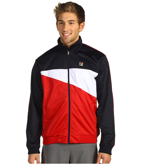 Hanorace Fila - Di Pisa Jacket - Peacoat/Chinese Red/White