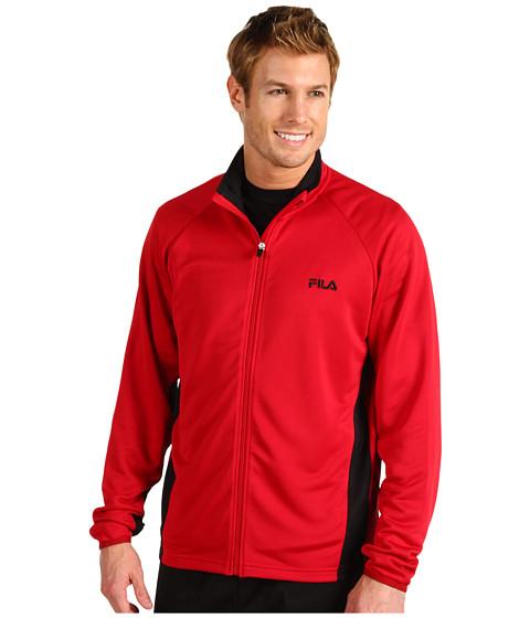 Hanorace Fila - Poly Performance Fleece Jacket - Jester Red/Black