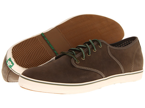 Adidasi PF Flyers - Exeter Suede - Forest Green