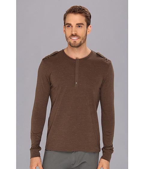 Tricouri Calvin Klein - LS Neppy Military - Canteen Brown