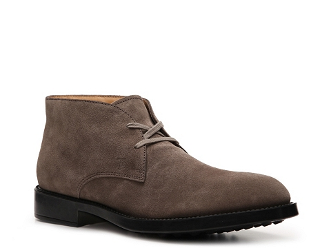 Ghete Tods - Tods Suede Chukka Boot - Taupe