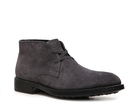 Ghete Tods - Tods Suede Chukka Boot - Grey