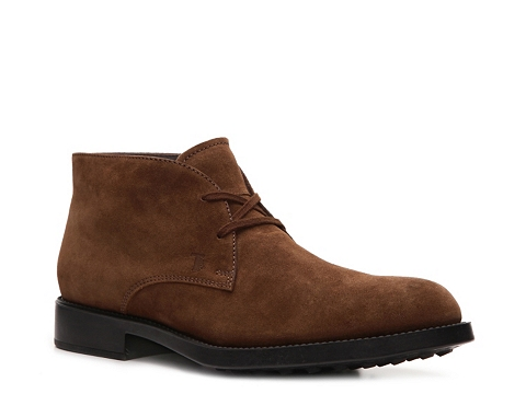 Ghete Tods - Tods Suede Chukka Boot - Brown