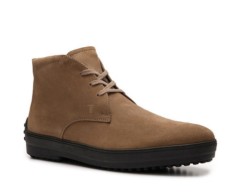 Ghete Tods - Tods Suede Boot - Tan