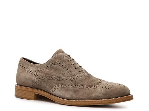 Pantofi Tods - Tods Suede Wingtip Oxford - Grey
