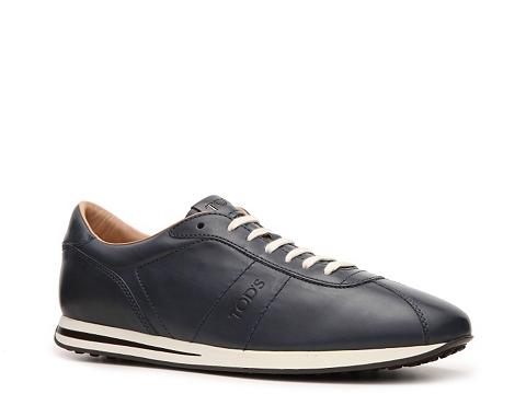 Adidasi Tods - Tods Leather Sneaker - Blue