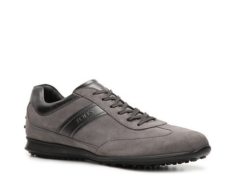 Adidasi Tods - Tods Suede Sneaker - Grey
