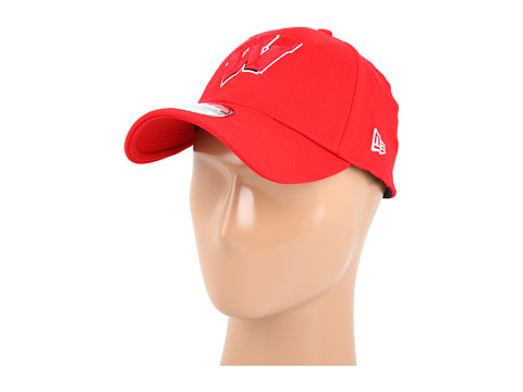 Sepci New Era - Wisconsin Badgers 39THIRTYâ⢠Team Classic Fitted Cap - Wisconsin Badgers