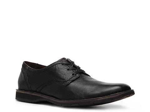 Pantofi John Varvatos - U.S.A. Distressed Oxford - Black