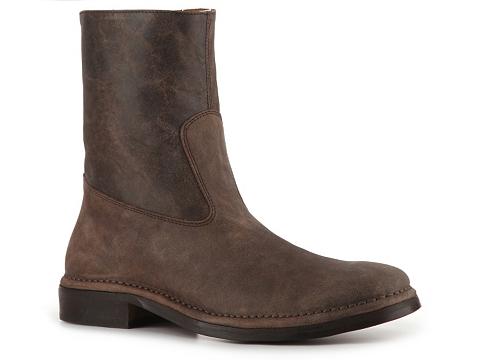Ghete John Varvatos - Side Zip Boot - Brown